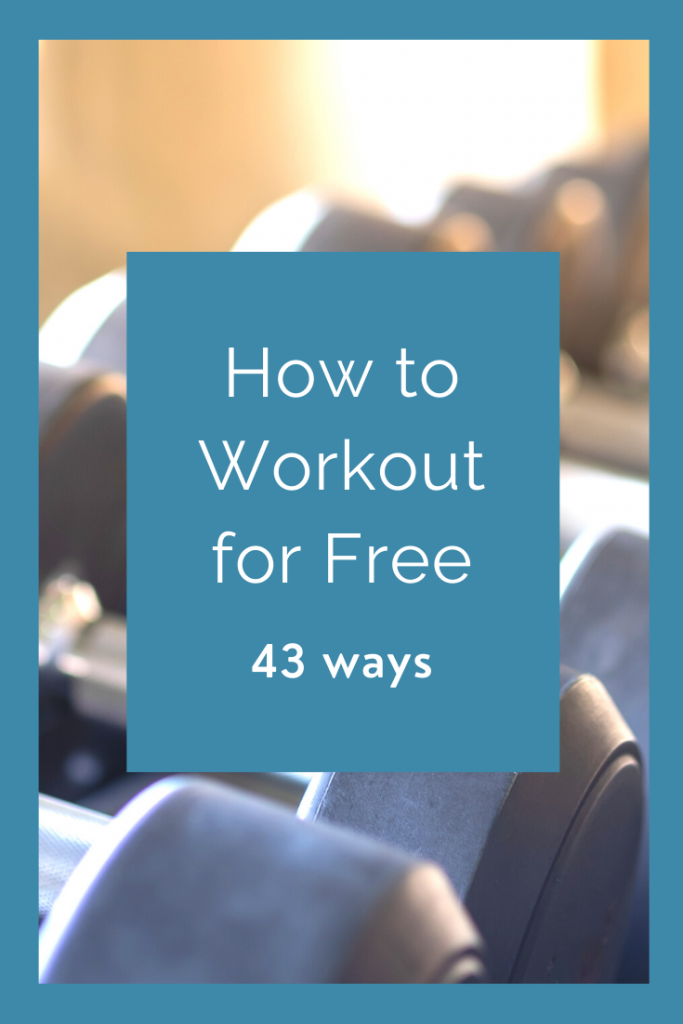 How to workout for free - 43 ways